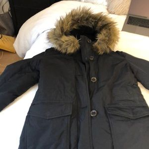 8ecbcb647db Uniqlo Jackets   Coats - Uniqlo Ultra Warm Down Parka in Black